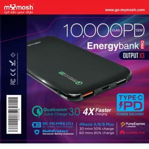 Energybank Pro 10000mAh PD3.0