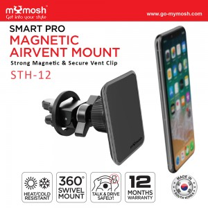 Smart Pro Magnetic Airvent Mount STH-12
