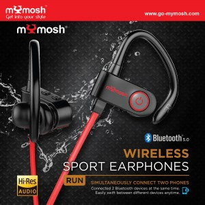 Bluetooth 5.0 Wireless Sport Earphone
